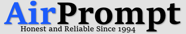 Airprompt: Honest and reliable since 1994